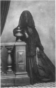 Mrs Howes in Deep Mourning (ca.1860s)
